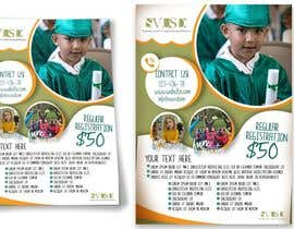 #52 for Education Preschool and Kindergarten Registration Flyer by KahelDesignLab