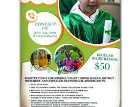 #81 for Education Preschool and Kindergarten Registration Flyer by KahelDesignLab