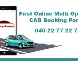nº 11 pour Design Banners for a Cab Booking Portal par sohagpg