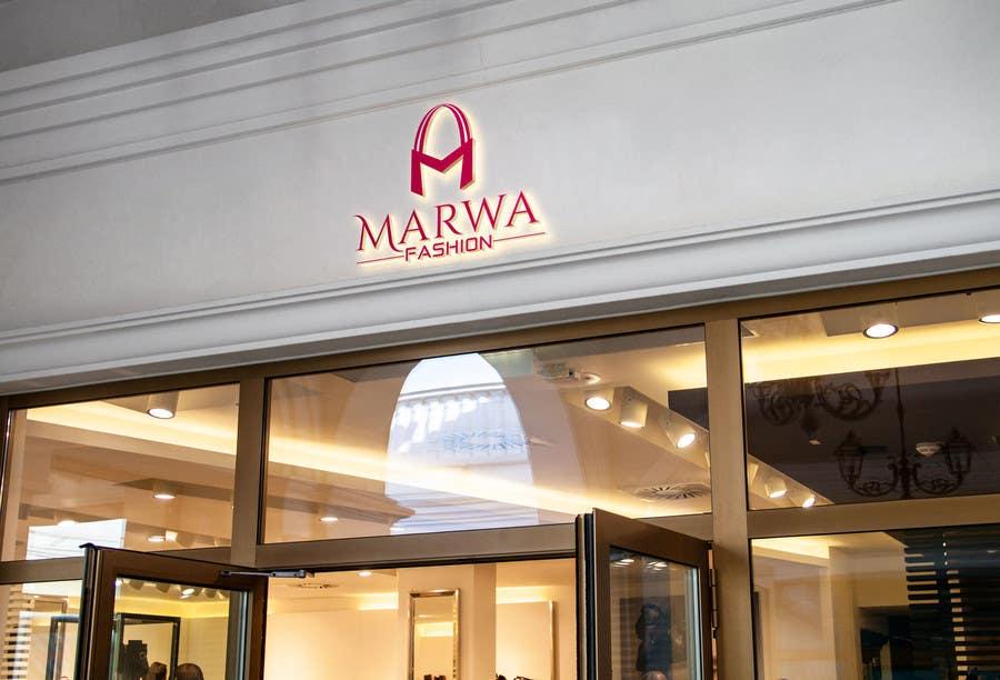 Proposition n°53 du concours Marwa Fashion Logo Design