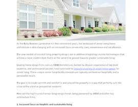 nº 20 pour Senior Living - Architectural Blog par YangaWriters