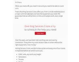 #6 para Design an Email html template de medaitrader