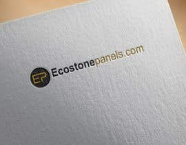 Nro 8 kilpailuun Logo for Ecostonepanels.com käyttäjältä shahin7591