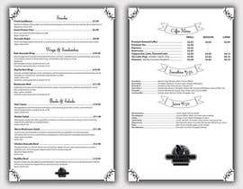 nº 8 pour Restaurant Food and Drink Menu par Taravsmemo