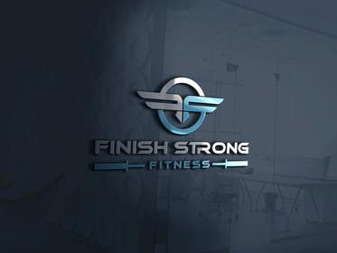 #124 for Design a Logo for Finish Strong Fitness (fitness company) by nasimabagam577