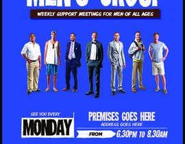 """Nro 7 kilpailuun Design a poster for """"Men Supporting Men"""" käyttäjältä luykenaus"""