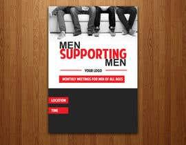 """Nro 19 kilpailuun Design a poster for """"Men Supporting Men"""" käyttäjältä sairalatief"""