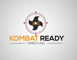Nro 159 kilpailuun Kombat Ready Westling Logo Design käyttäjältä ibrahim453079