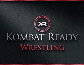 Nro 176 kilpailuun Kombat Ready Westling Logo Design käyttäjältä dksagor010