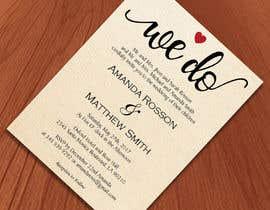 #20 para Design a Wedding Invite de sultanglt
