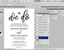 #13 para Design a Wedding Invite de ugrshn
