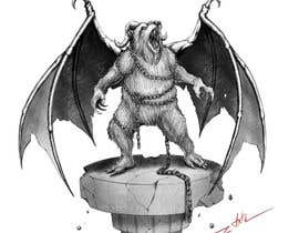 nº 30 pour Illustrate Gargoyle/Bear par zuart
