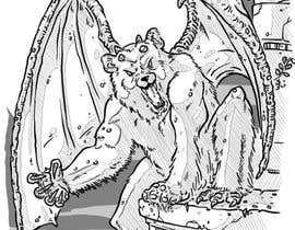 nº 9 pour Illustrate Gargoyle/Bear par GabSW