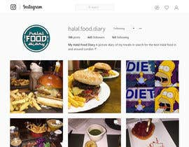#20 for Design a logo for my Instagram blog - Halal Food Diary by theimrangfx