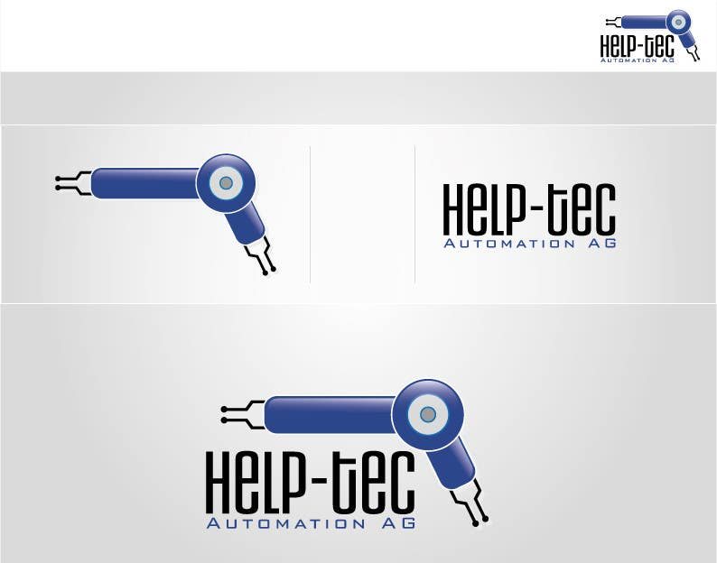 Inscrição nº                                         12                                      do Concurso para                                         Logo Design for HELP-TEC Automation AG