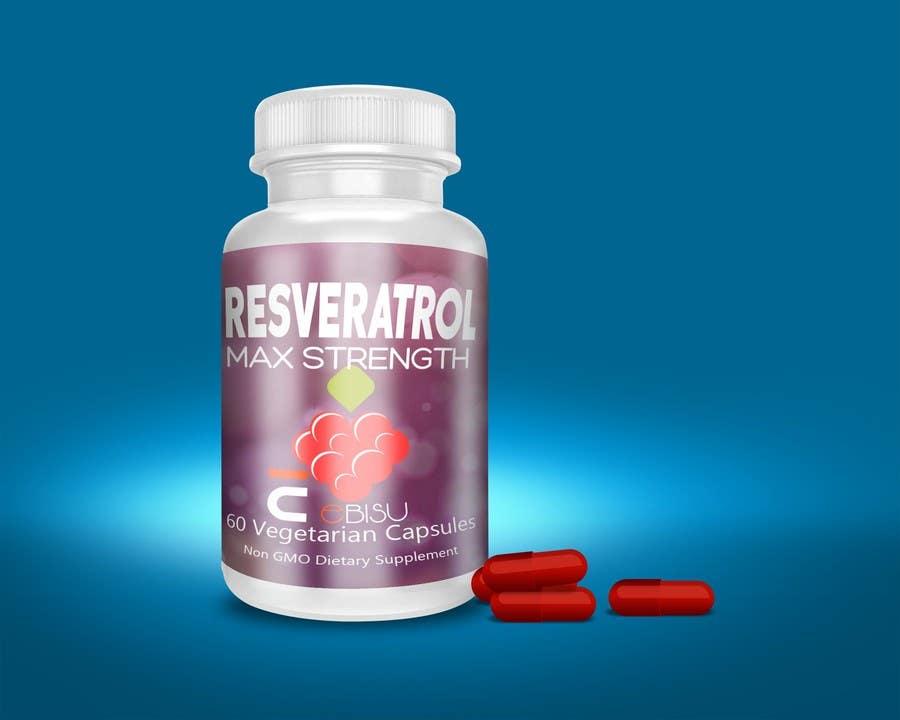 Proposition n°138 du concours Logo and Bottle Label Design for Vitamin Supplement
