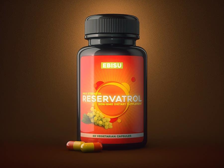 Proposition n°96 du concours Logo and Bottle Label Design for Vitamin Supplement