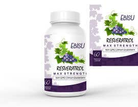 #119 for Logo and Bottle Label Design for Vitamin Supplement by MadniInfoway01