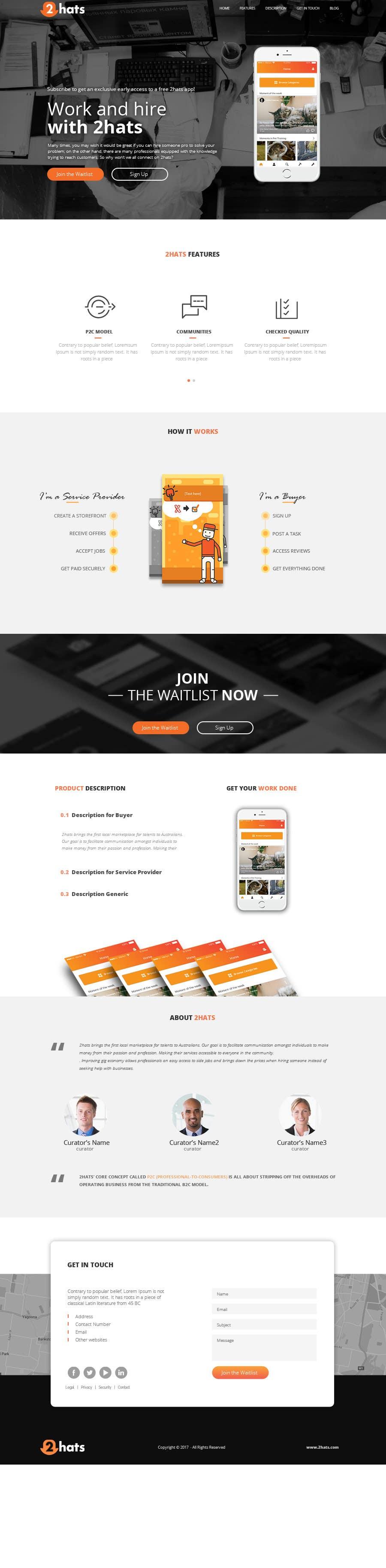 Proposition n°22 du concours Design a Website Mockup