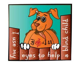 #27 para Cartoon illustration for charity: Use your eyes to help a blind child por misutase
