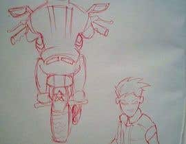 #8 for Illustrate Game Character and Motorcycle (2D) by wahidxaman