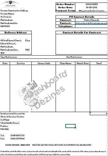 Entry 14 By Pranavtrikha For I Need A Excel Invoice Template Making