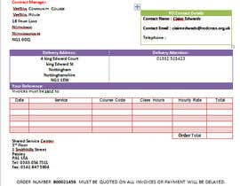 nº 11 pour I need a excel invoice template making par rohimakhatun