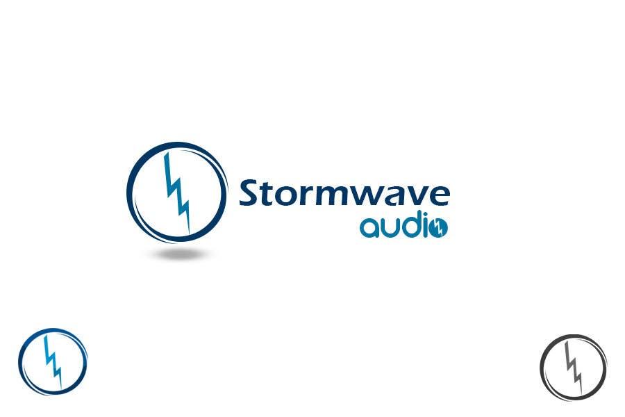 Konkurrenceindlæg #                                        68                                      for                                         Logo Design for Stormwave Audio