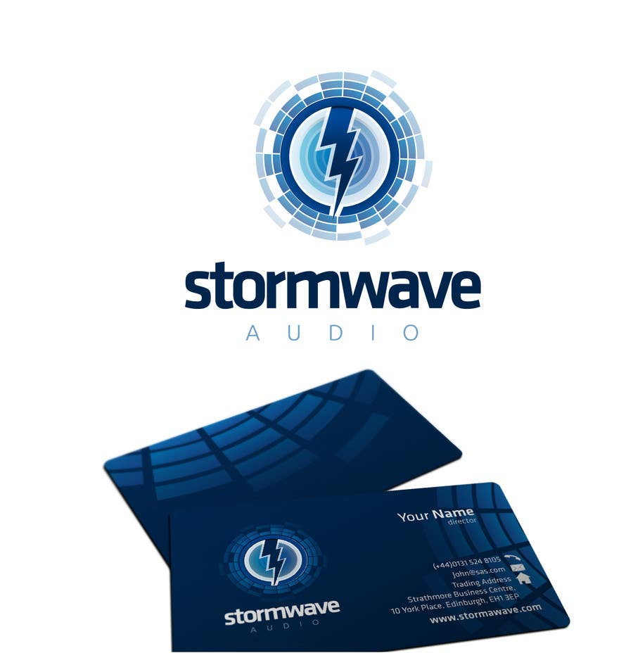 Konkurrenceindlæg #                                        170                                      for                                         Logo Design for Stormwave Audio