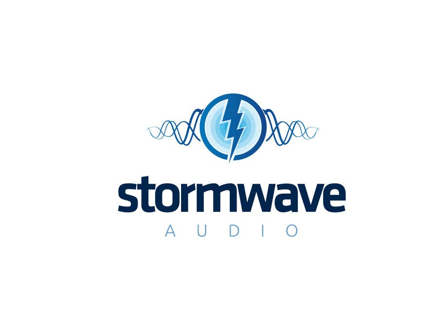 Konkurrenceindlæg #                                        113                                      for                                         Logo Design for Stormwave Audio