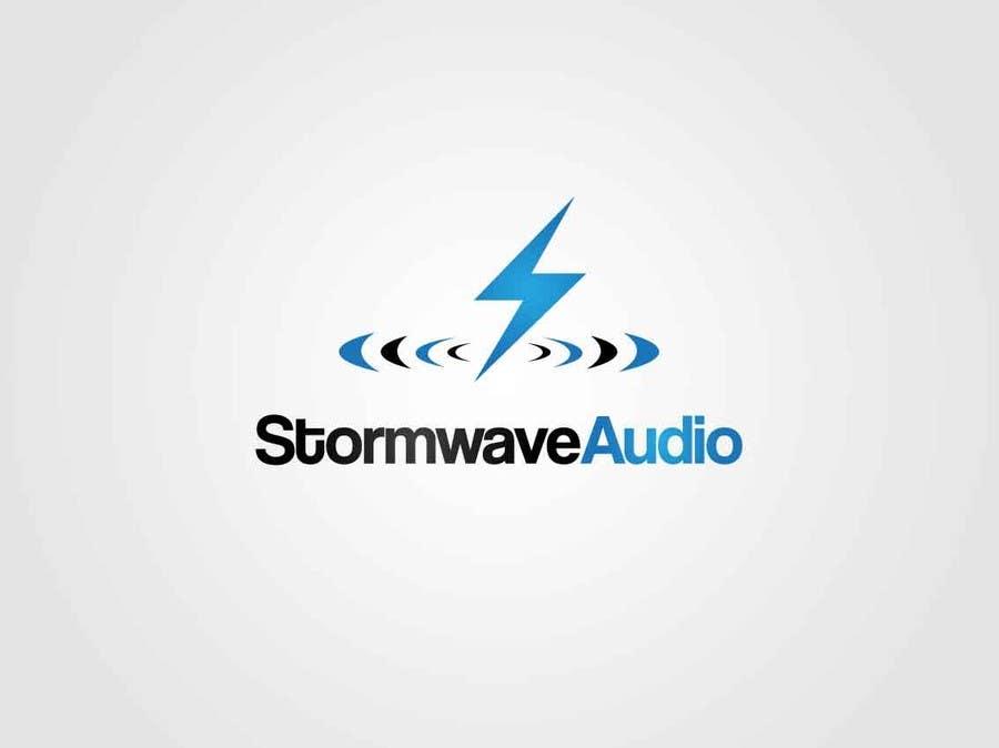 Konkurrenceindlæg #                                        84                                      for                                         Logo Design for Stormwave Audio