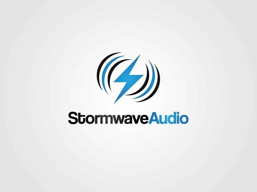 Konkurrenceindlæg #                                        56                                      for                                         Logo Design for Stormwave Audio