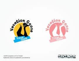 #3 para Design a Logo for Vacation Goose Travel Guide book cover de Eve17