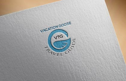 #12 for Design a Logo for Vacation Goose Travel Guide book cover by shahporan20170