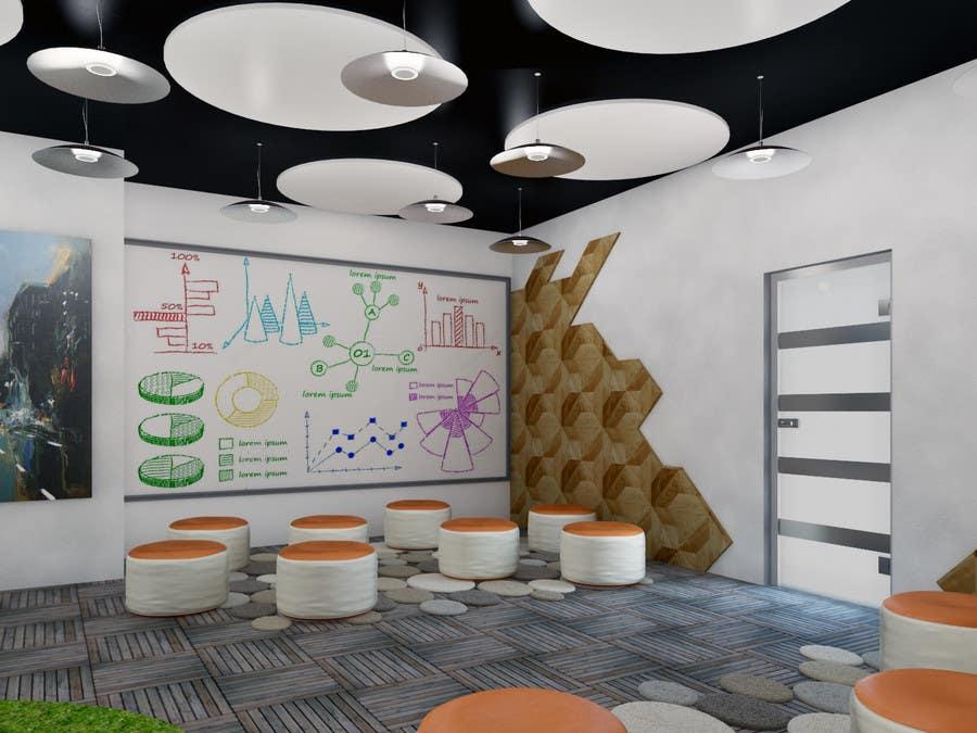 Kilpailutyö #                                        6                                      kilpailussa                                         3d interior Design for 2 rooms (2 days contest) -- 1000$ project