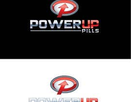 nº 317 pour Logo Design for Power Up Pills par raikulung