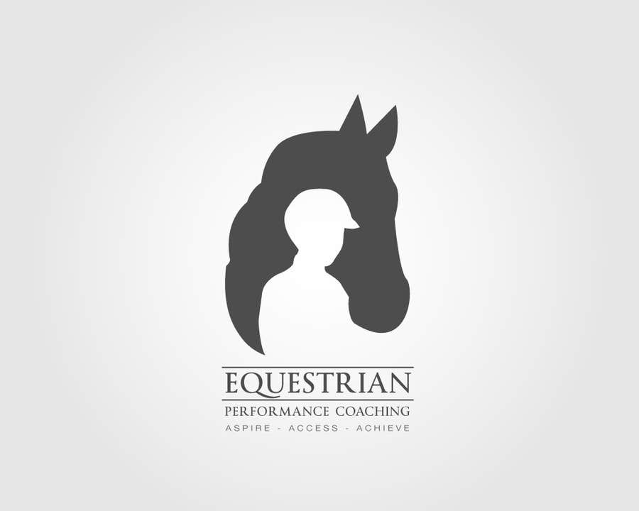 Kilpailutyö #123 kilpailussa Logo Design for Equestrian Performance Coaching