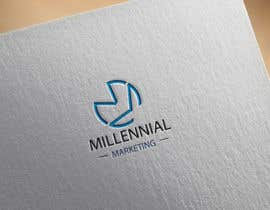 nº 74 pour Millennial Marketing Logo Design par probirbiswas815