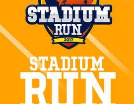 Nro 30 kilpailuun Design a Logo - Stadium Run käyttäjältä JairoMD