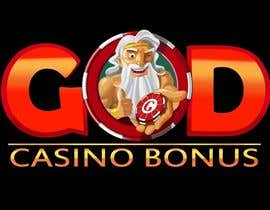 nº 121 pour Logo Design for God Casino Bonus par artinearth