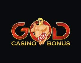 nº 159 pour Logo Design for God Casino Bonus par vidyag1985