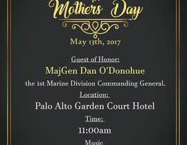 #42 for Military Mothers Day Flyer Template by BiancaDeea