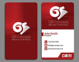 #25 for Make a creative business cards for our agency by papri802030
