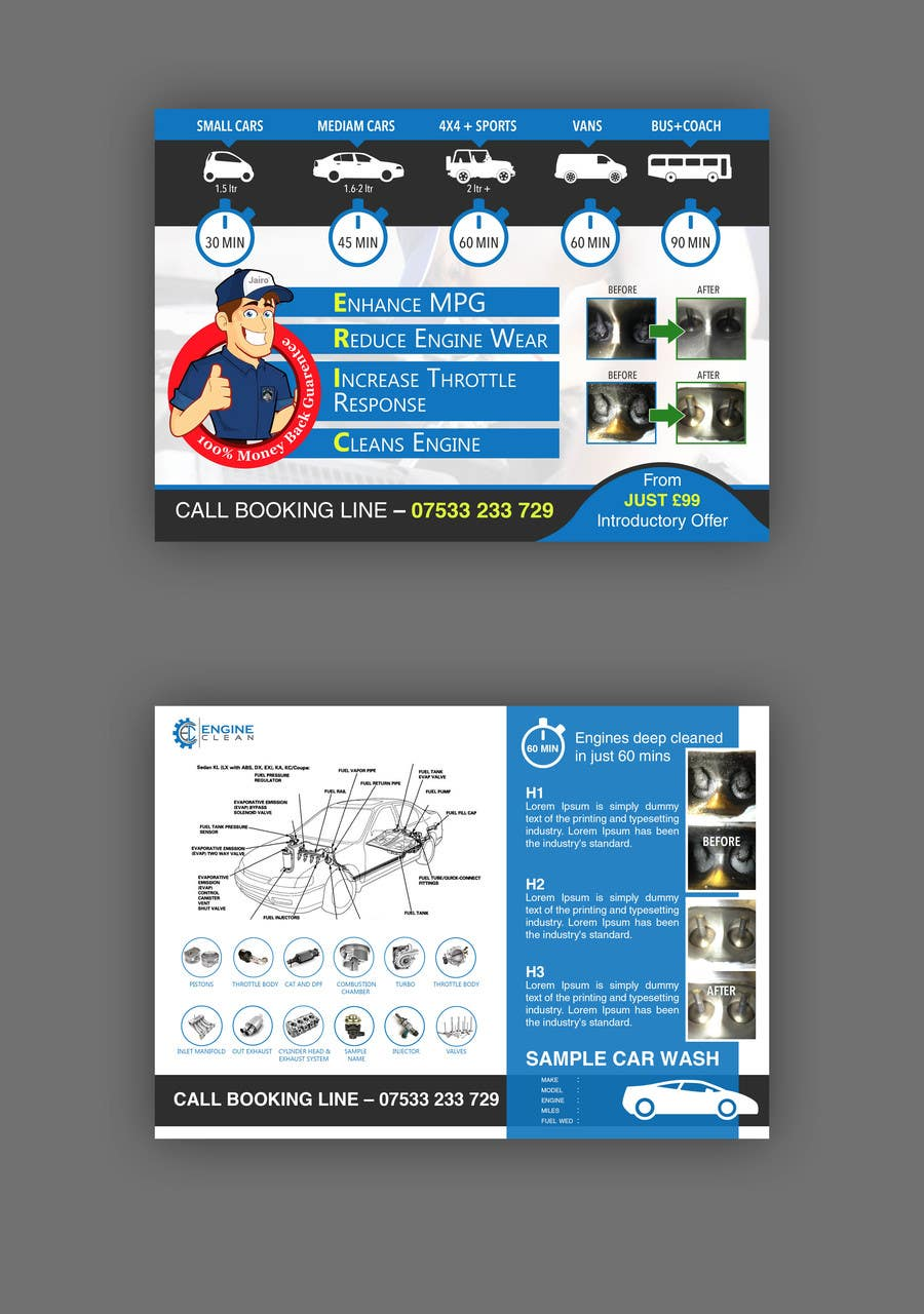Print Ready Double Sided A5 Leaflet