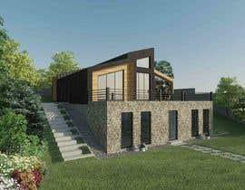 nº 28 pour Realistic renderings...two images for exterior building par TamaraLogwiniuk