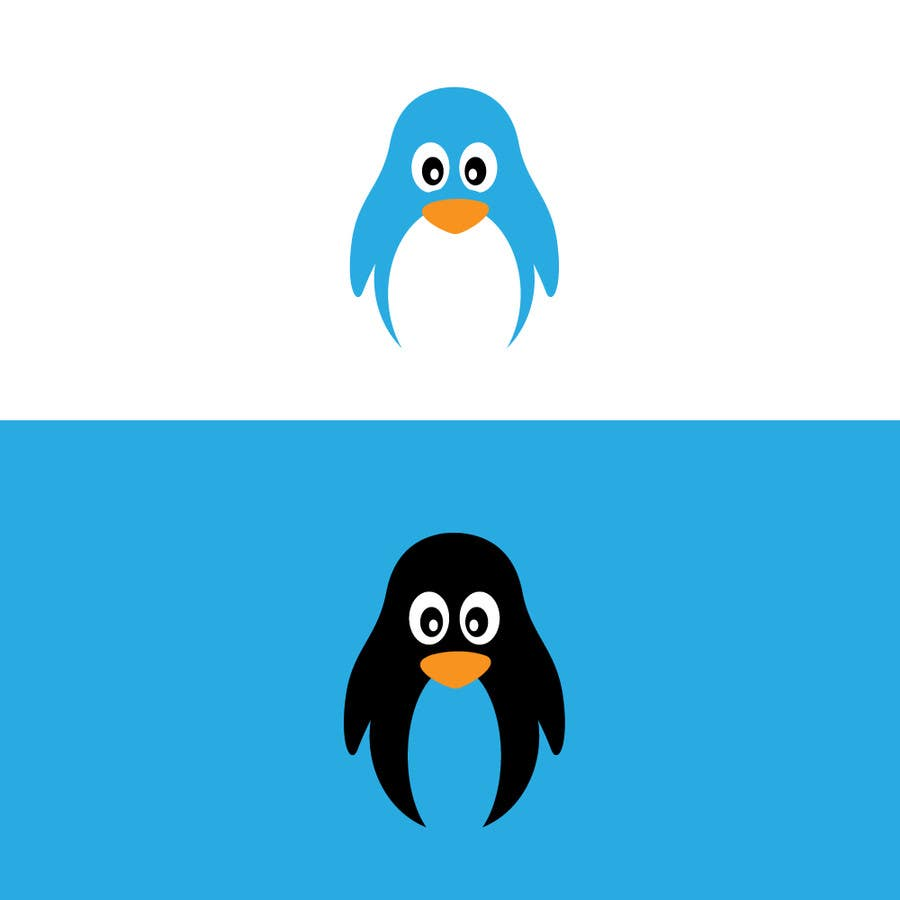 Proposition n°20 du concours Illustrate Something Penguin Cartoon for Logo