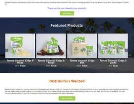 Nro 7 kilpailuun Design a Website Mockup käyttäjältä rajbevin