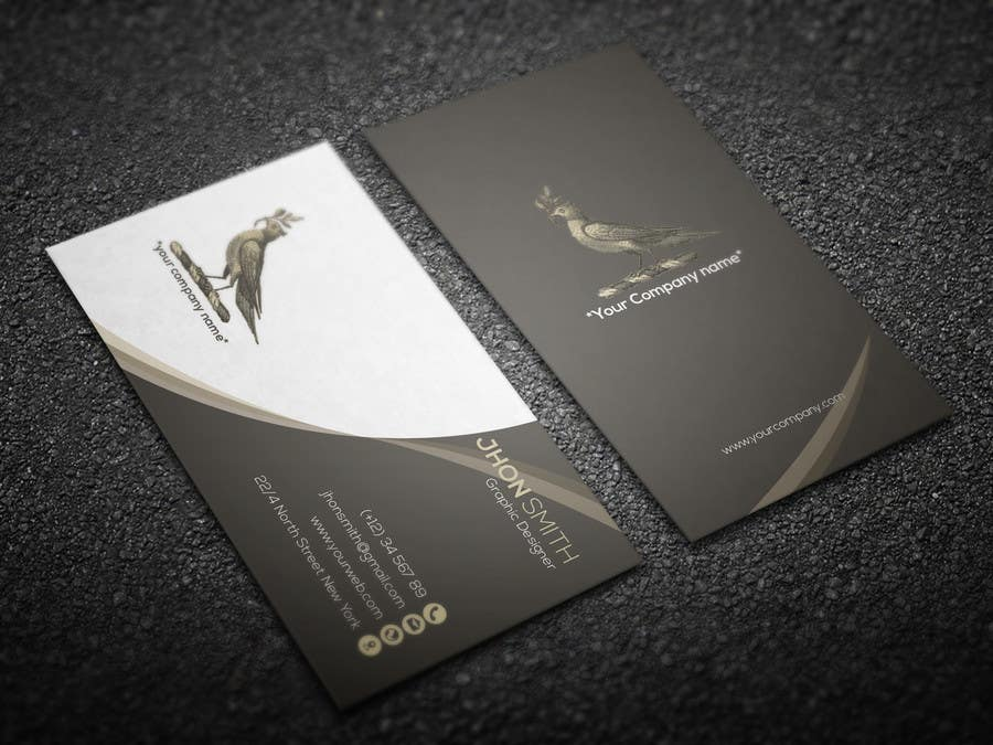 Proposition n°151 du concours Design some Business Cards