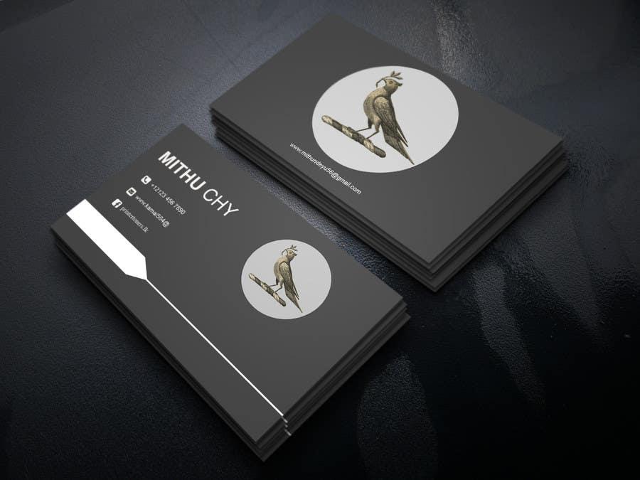 Proposition n°186 du concours Design some Business Cards