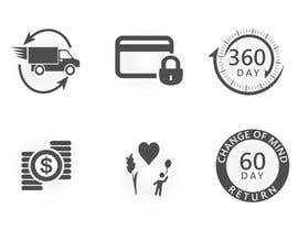 #27 for Design 6 simple Icons by ankurrpipaliya